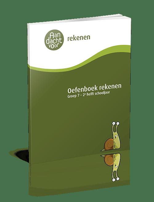 Oefenboek Rekenen Groep 7 - 2e helft schooljaar