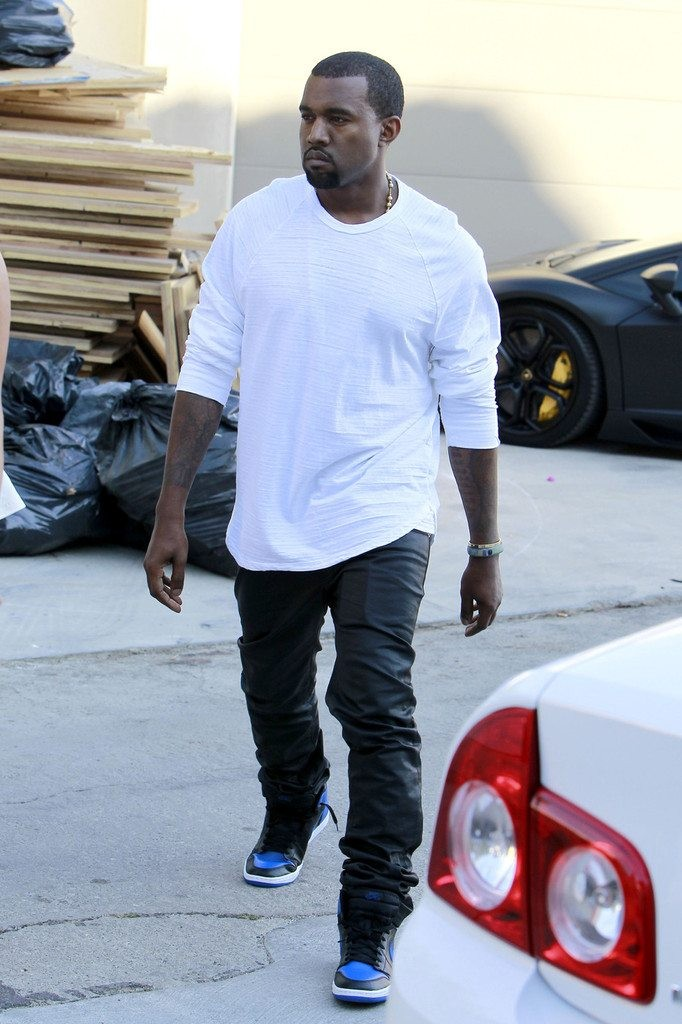 Kanye West in the Air Jordan 1
