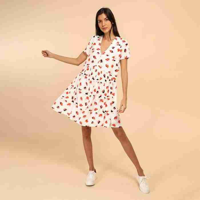 Hannah Swing Dress (Poppy)