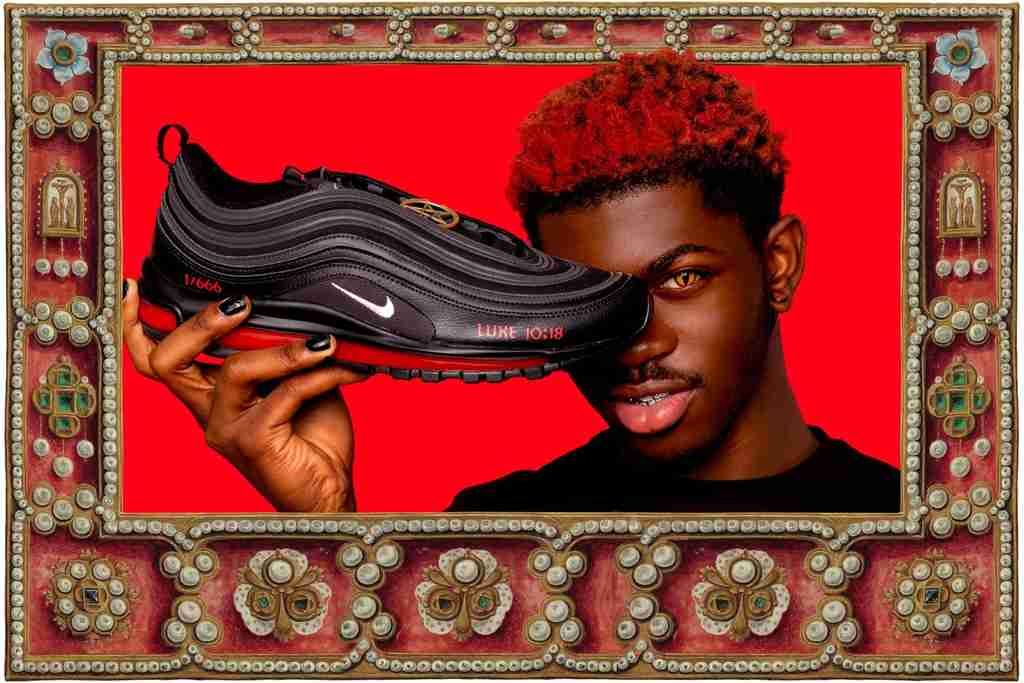 Lil Nas X with his