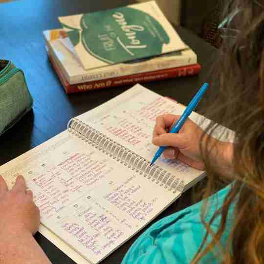 Organized Homeschool Planner curriculum planner