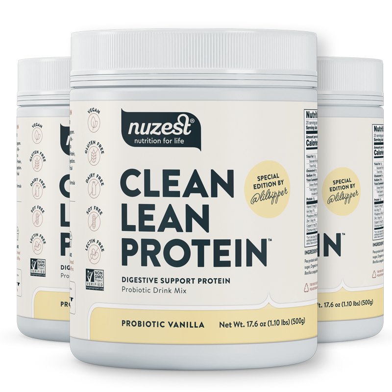 Digestive Support Protein - Probiotic Vanilla - 3 Containers
