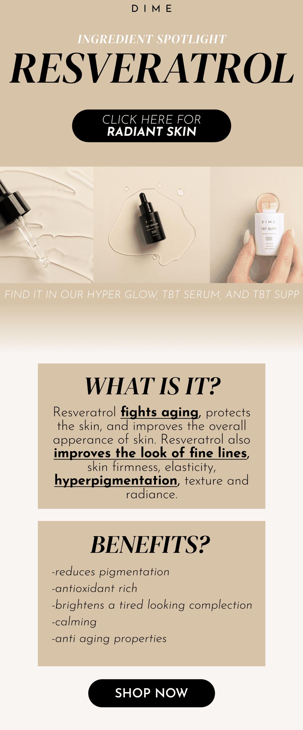 Ingredient Spotlight - Resveratrol