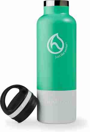 Insulated Water Bottle 21oz - Aqua Green - Bottle