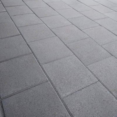 Charcoal with Medium Gray Pavers