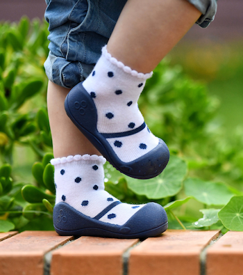 Attipas baby shoes in Formal Navy