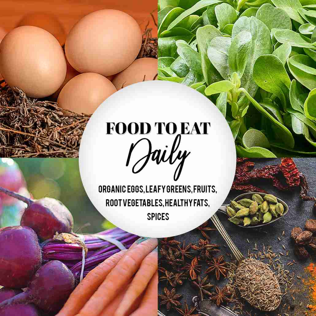Food to eat daily