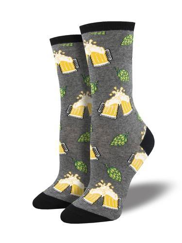 Gabby Maria Women's Hoppier Together Crew Socks
