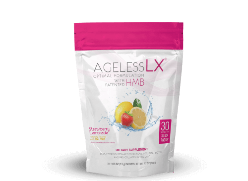 1 Bag AgelessLX Strawberry Lemonade
