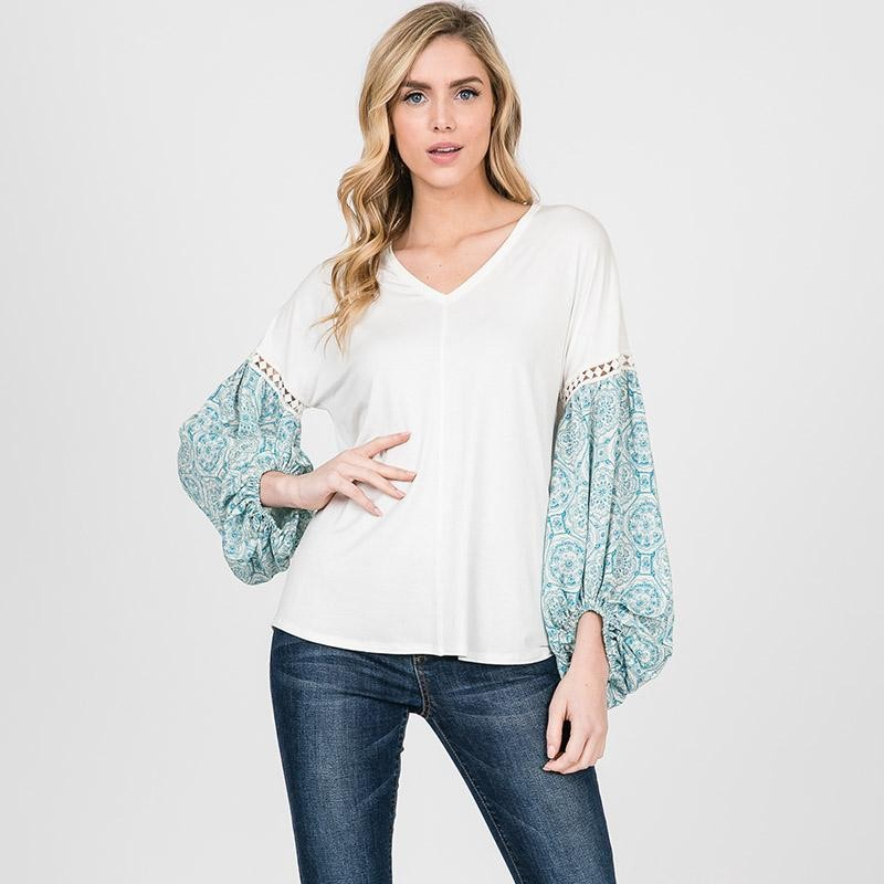 Beatrice Baloon Sleeve Blouse
