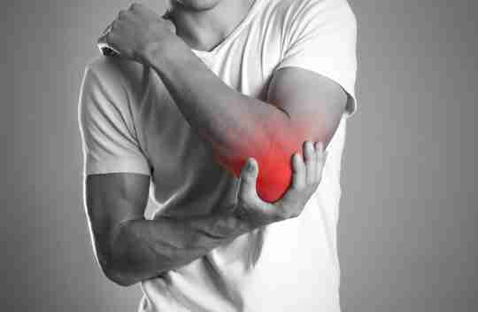 tennis elbow painful tender muscles forearm