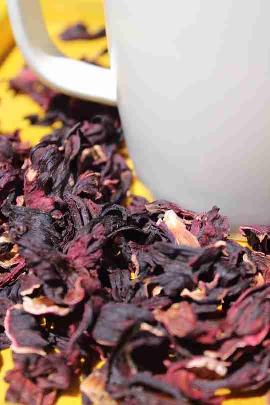Drink hibiscus tea for its health benefits