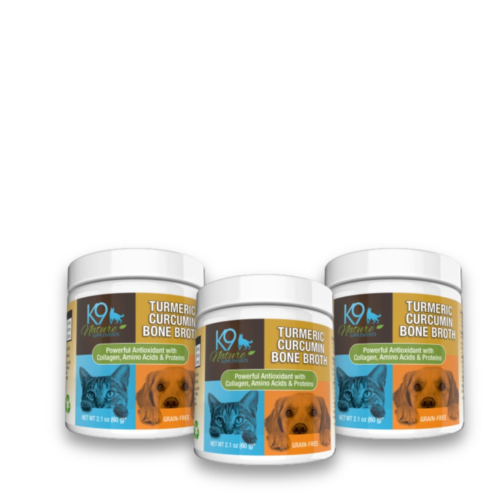 Turmeric Curcumin Bone Broth For Pets 3-Pack