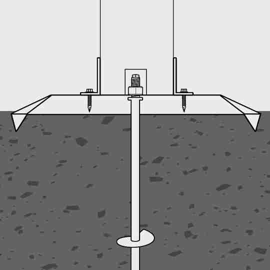 Convex Plate On Ground