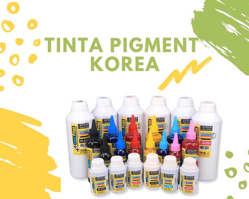 Tinta pigment korea