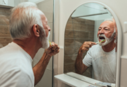 brushing teeth flossing healthy habits stop smoking