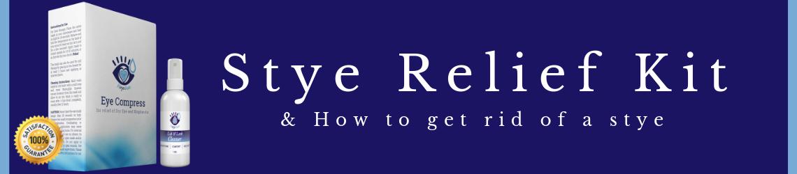 Eye Stye Relief Kit