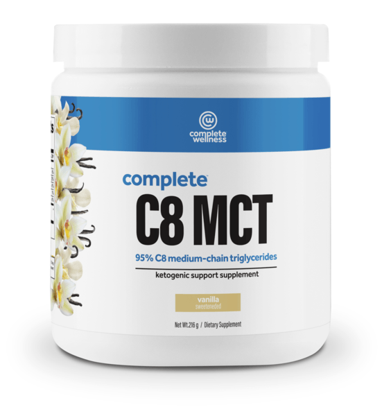 MCT oil powder - complete wellness