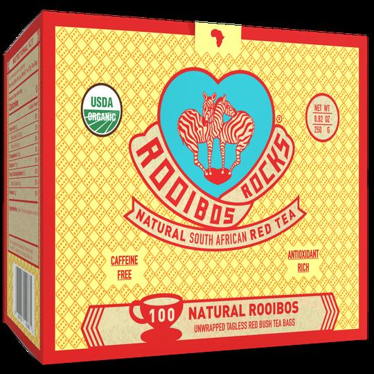 Rooibos Rocks 100 teabags