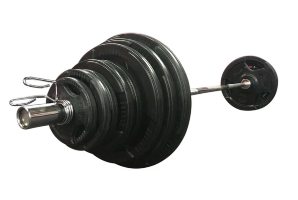 100KG Strengthmax Rubber Olympic Plate Set