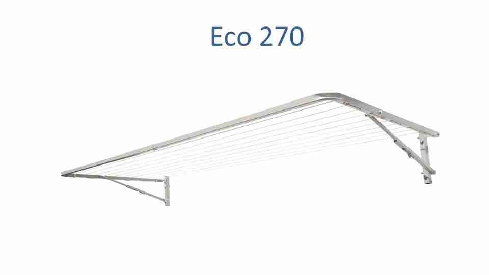 eco 270 270cm wide clothesline