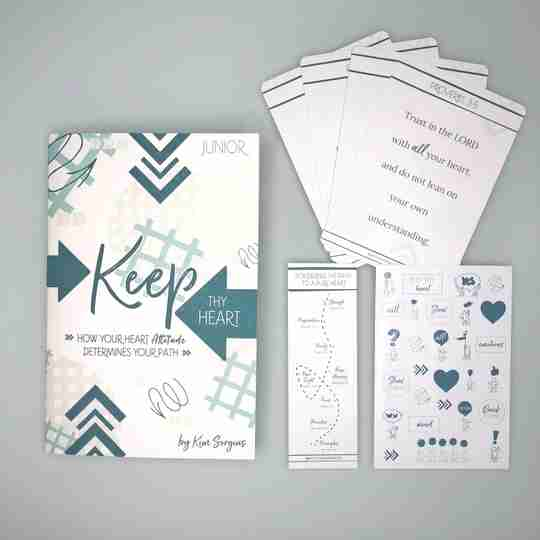 keep thy heart Bible study for kids