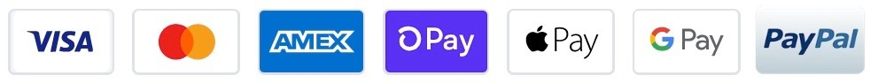 Pay with Visa, Master Card, D Pay, Apple Pay, Google Pay, PayPal