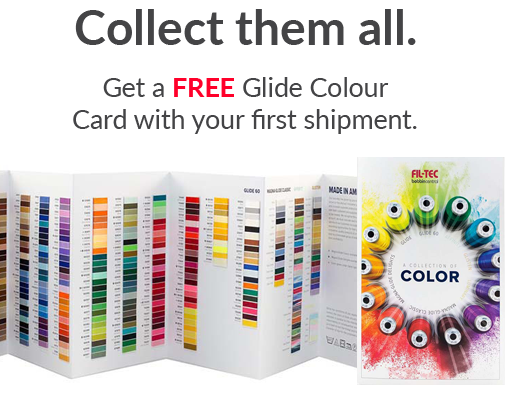 free glide thread colour card