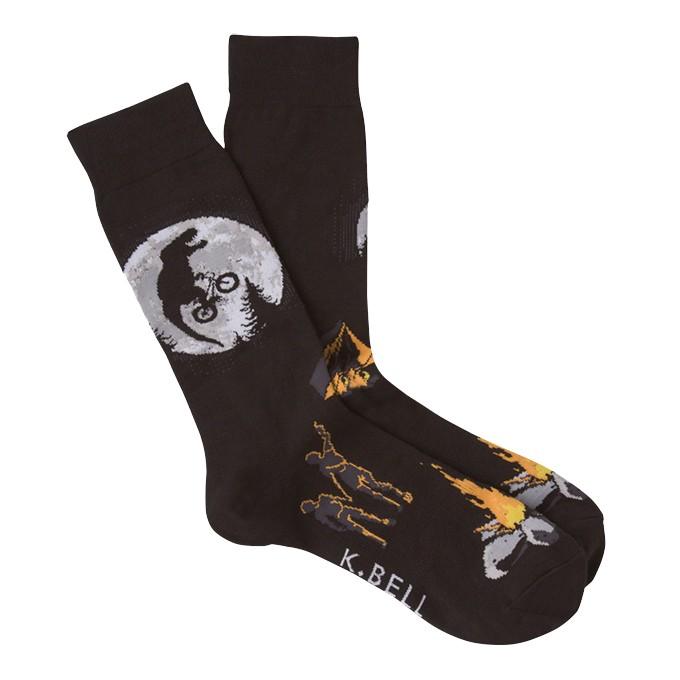 Men's Big Dinosaur Crew Socks