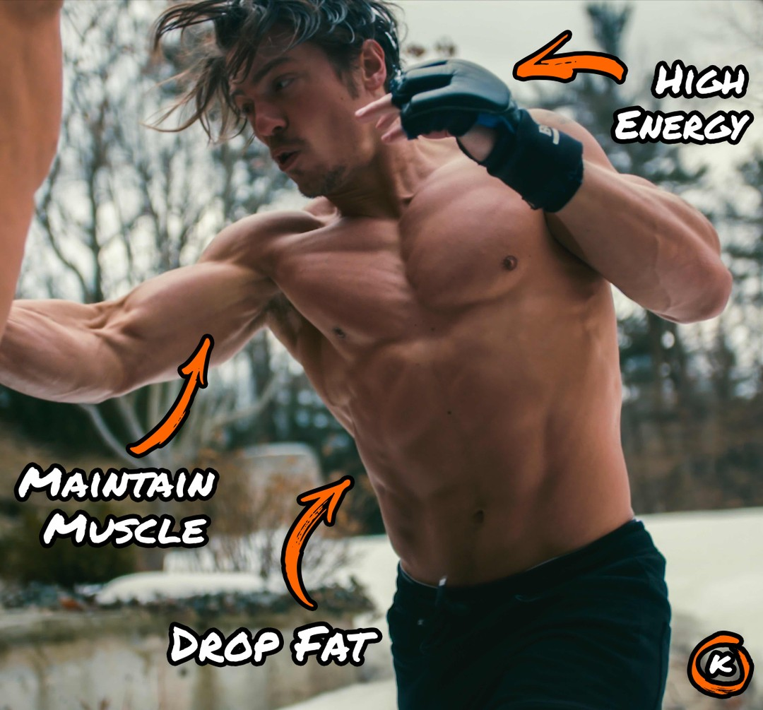 high energy, maintain muscle, and drop fat