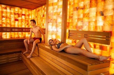Steam in a sauna