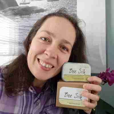 Kara beesilk hard lotion bar success for her dry skin