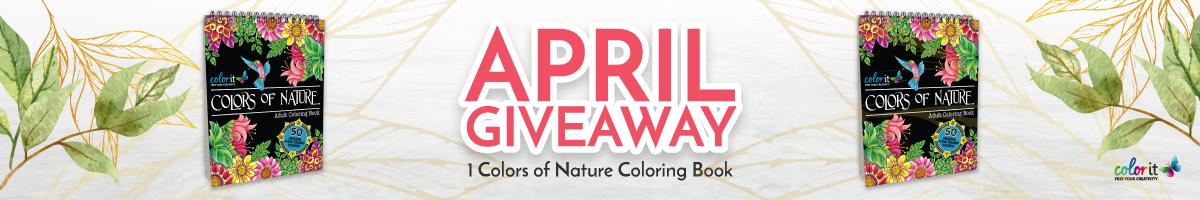 ColorIt April 2021 Giveaway