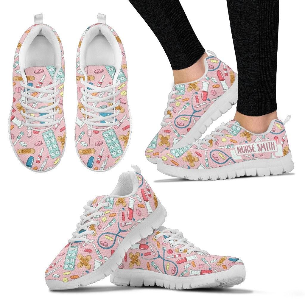 Custom Nurse Name Sneakers