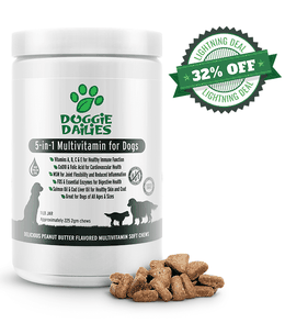 Amazon Prime Day Deals! 32% Off Our 5-in-1 Multivitamin Soft Chews for Dogs