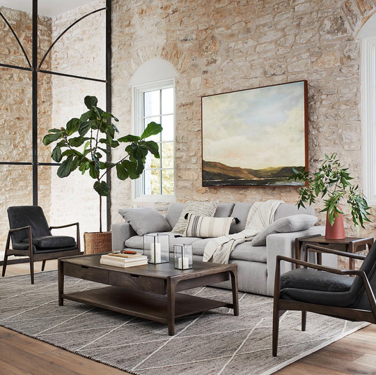 A living room set by Magnolia