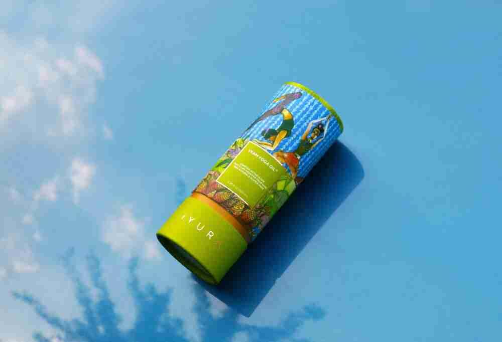 Vyam Yoga Oil's Brand New Packaging