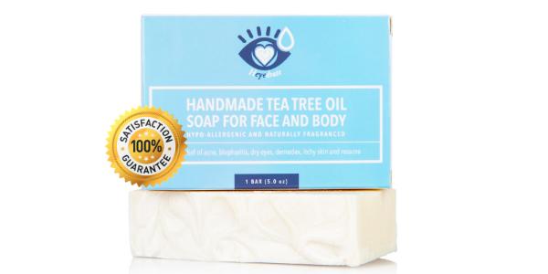 Heyedrate Tea Tree Oil Soap with Tea Tree Essential Oil