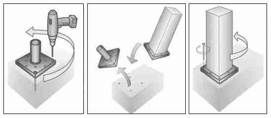 Install Titan Wood Post Anchor