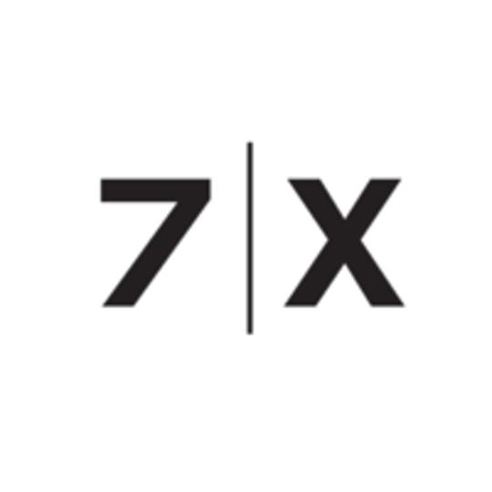 7 | X 7X 7x White Background Black Text