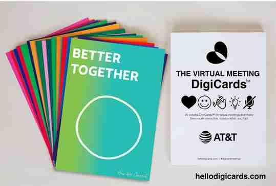 digicards - flash cards for digital meetings