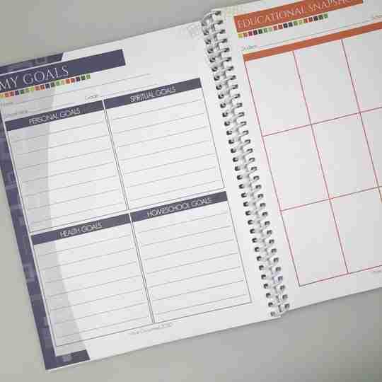 student planner for homeschool