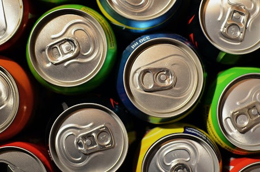cans of soda contain too much sugar