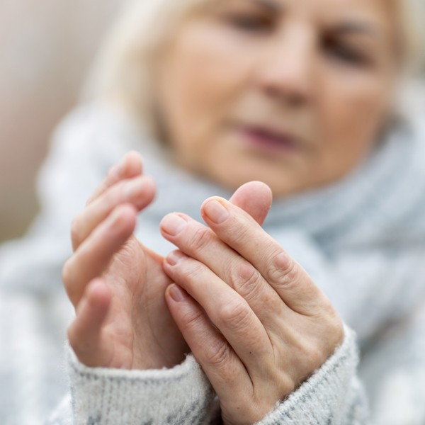 Woman with Neuropathy Pain