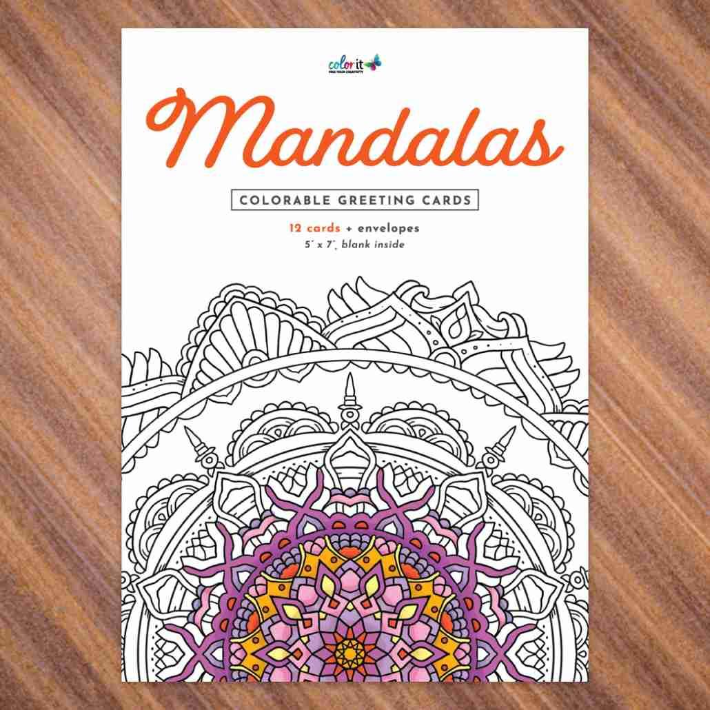 ColorIt Mandalas Greeting Cards