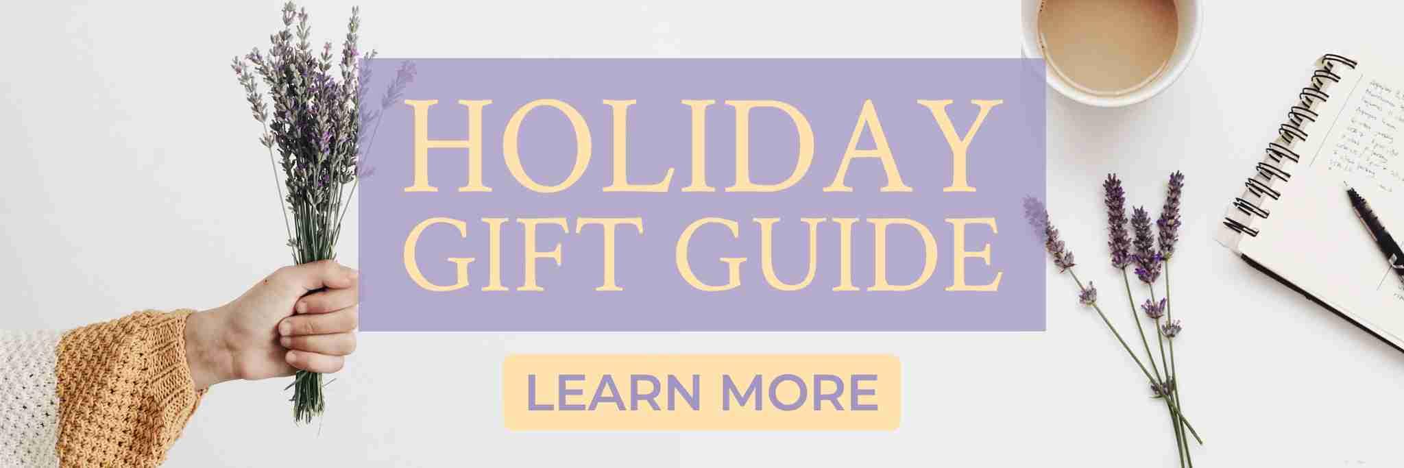 Holiday gift guide - Suzi's Lavender