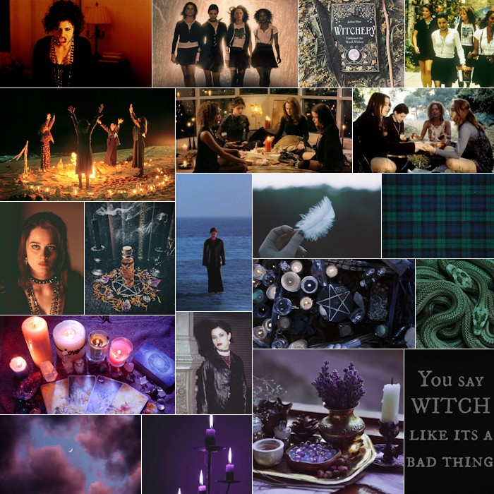 Femme Fatale Mood Board for The Craft Collection