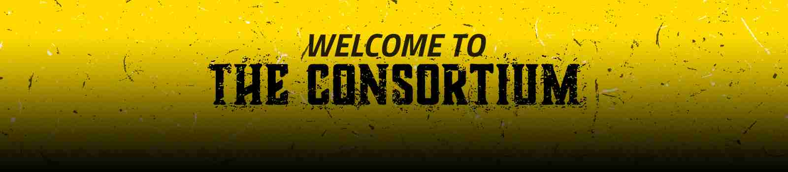 WELCOME TO THE CONSORTIUM