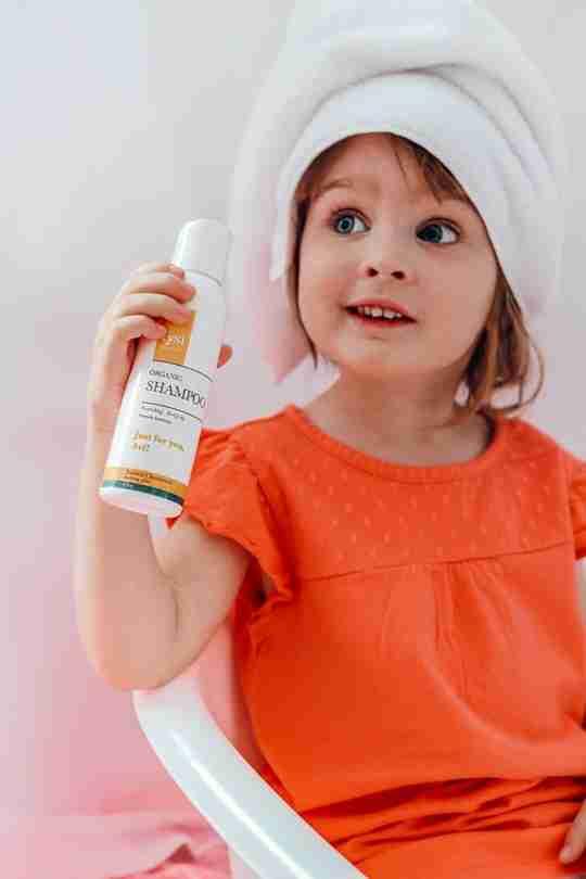 natural shampoo hair loss