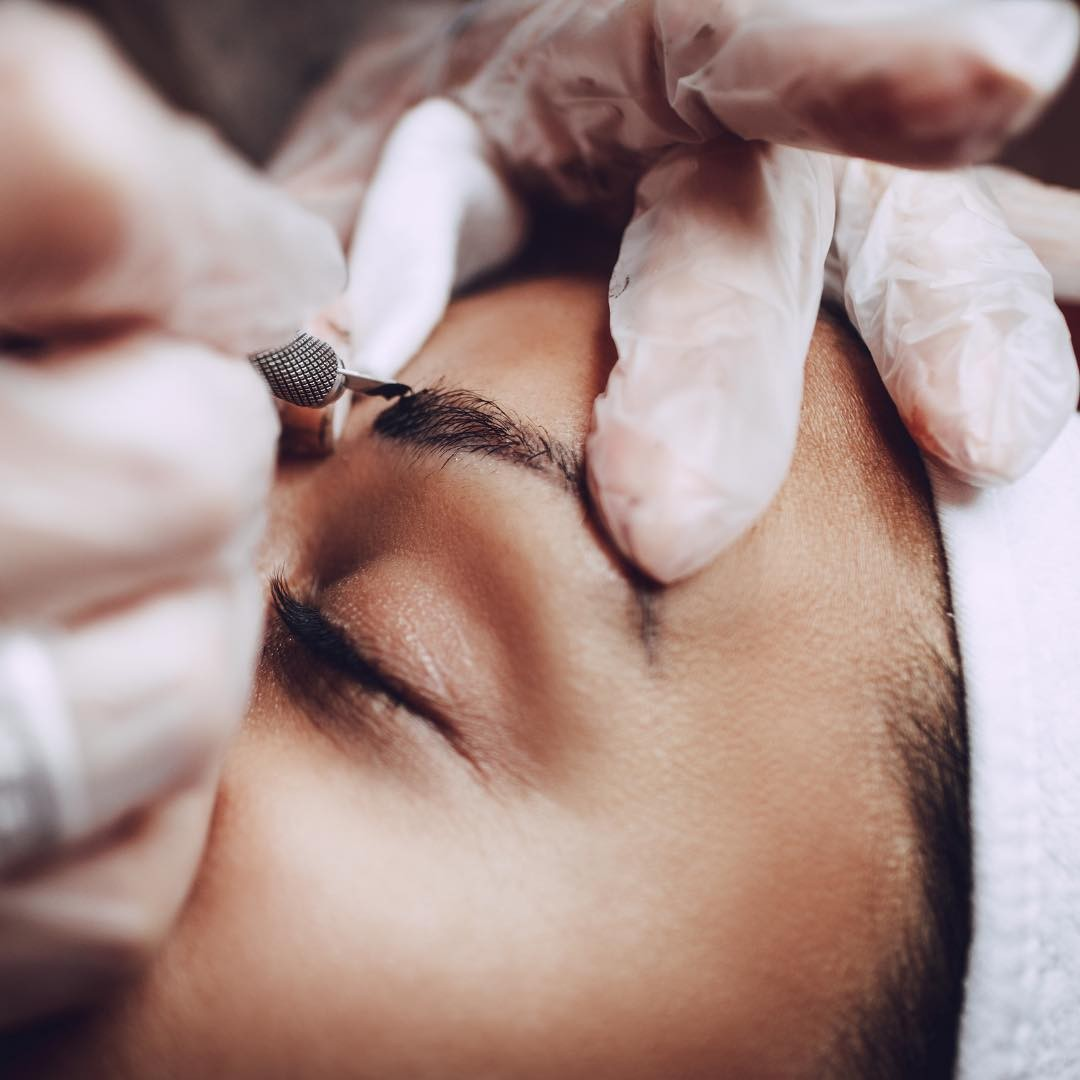 Microblading-touch-up-process